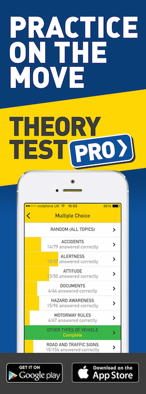 Theory Test Pro in partnership with Smart Driving School